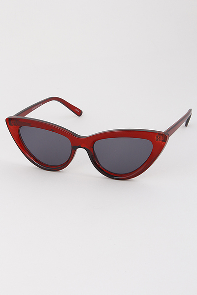 Thick Framed Eye Cat Sunglasses