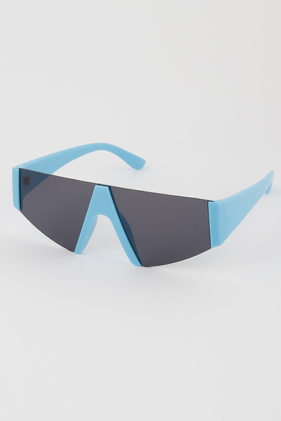 Side Frame Shield Sunglasses
