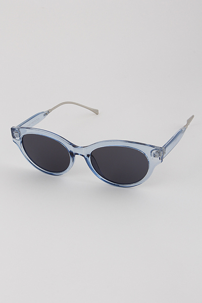 Transparent Rim Sunglasses