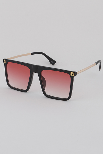 Rectangular Shield Sunglasses