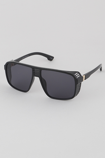 Monotone Aviator Sunglasses