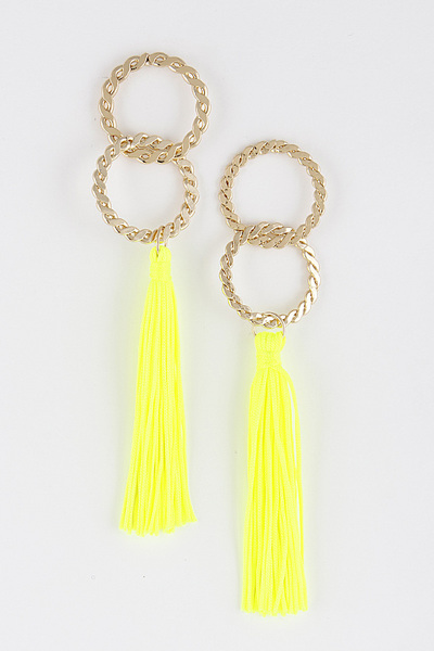Fringed Tassel Lovely Earrings