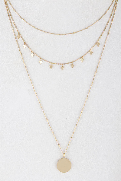 Layered Gypsy Necklace