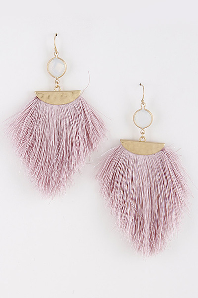 Fringed Tassel Day to Day Earrings