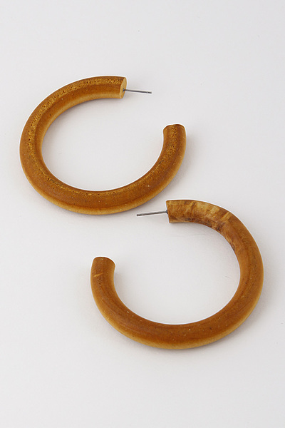 Antique Wood Hoops