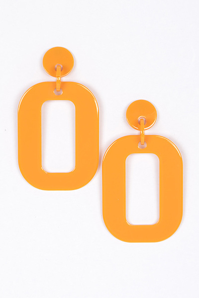 Rectangle Casual Earrings