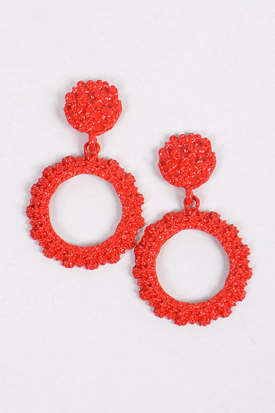 Circle Dangle & Drop Earrings