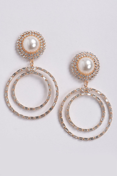 Luxury Multi Hoops Drop Earrings