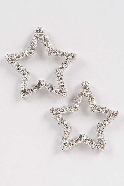 Glitter Star M Earrings