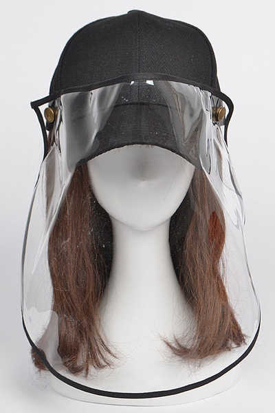 Face Shield Baseball Cap