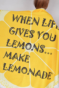 Lemonade Beach Towel