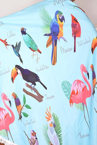 Bird Beach Towel