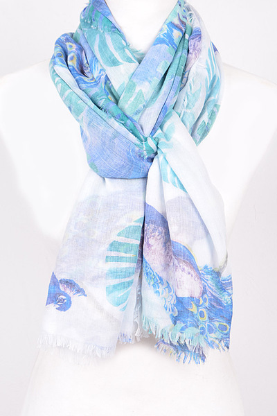 Nature Inspired Thin Scarf