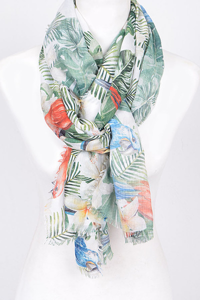 Tropical Themed Scarf