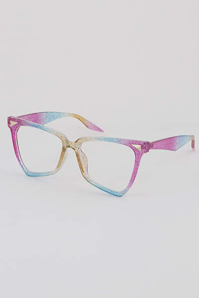 Glittered Gradient Glasses