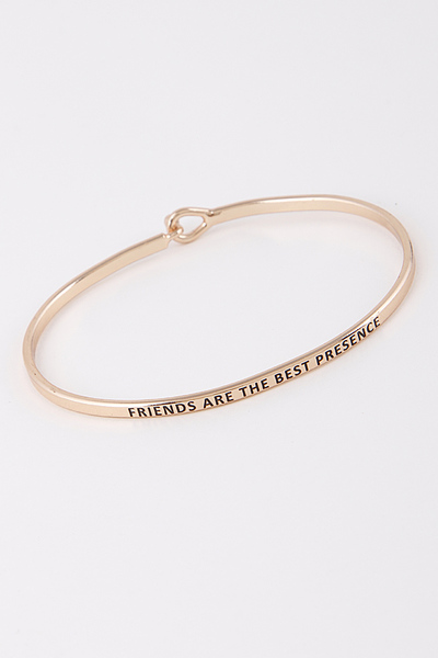 Friends are the Best Presence Bracelet