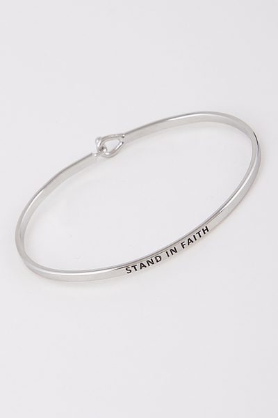 Stand In Faith Bracelet