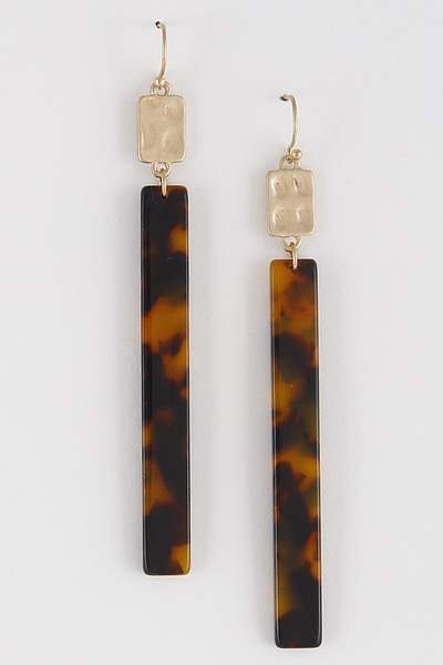 Bar Line Weekend Earrings