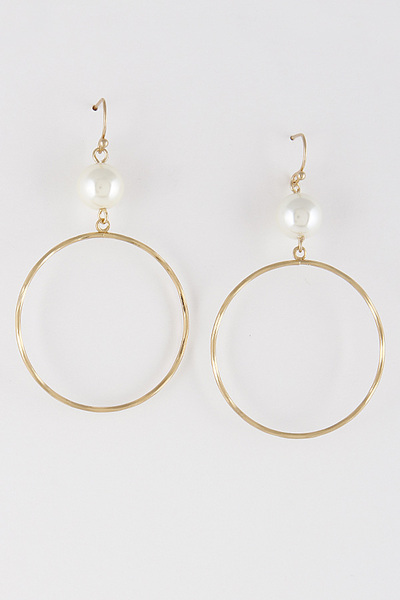 Hoop Thin Earrings