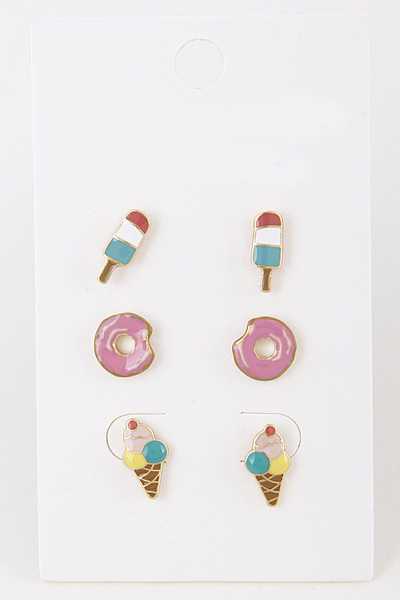 Basic Junk Earring Set