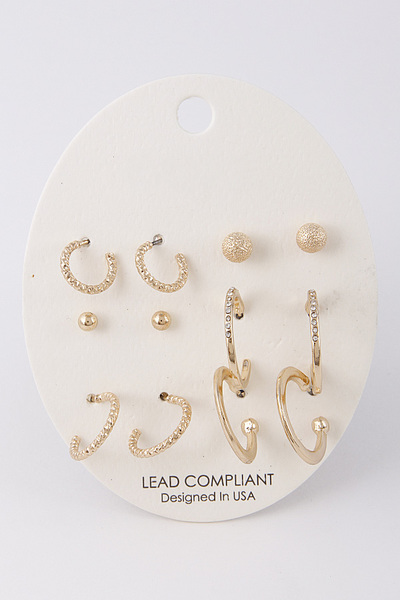 Your Must Have Earring Set