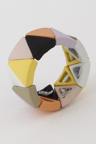 Triangulated Fashion Ring