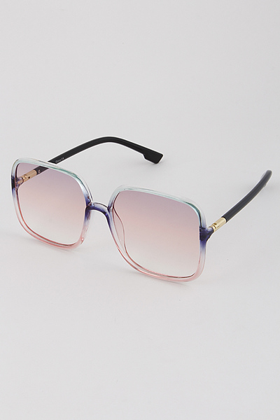Translucent Bubblegum Sunglasses