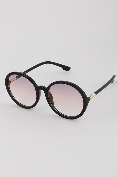Hipster Round Sunglasses