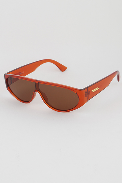 Tinted Aviator Retro Sunglasses