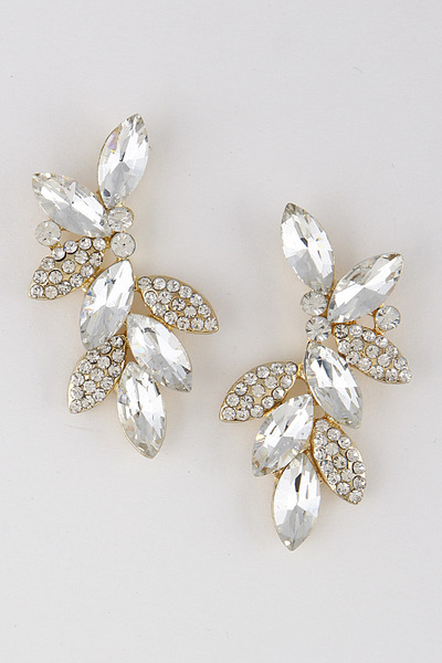 Leaf Branch Luxury Earrings