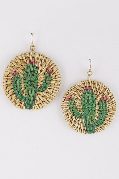 Cactus Dangle & Drop Earrings
