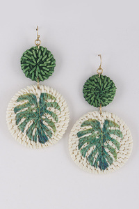 Zafari Style Earrings