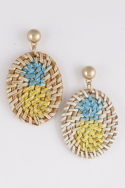 Pineapple Summer Vibes Earrings