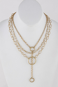 Chainlink Statement Necklace