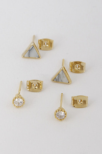 Small Triangle Earring S