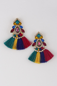 Tassel Azteca Earrings