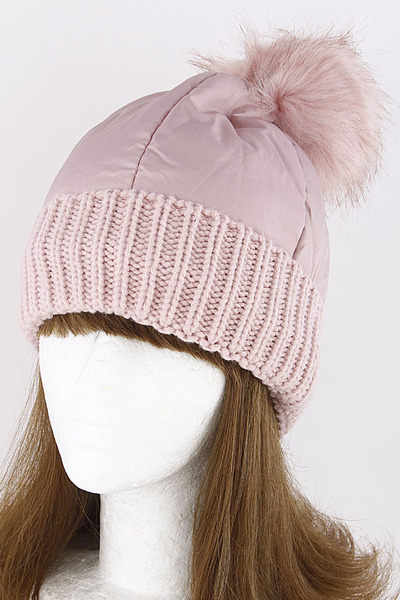 Pom Pom Winter Adjustable Beanie