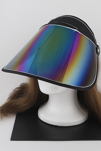 Metallic Sun Visor Hat
