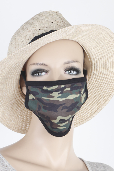 Army Patterned Mask