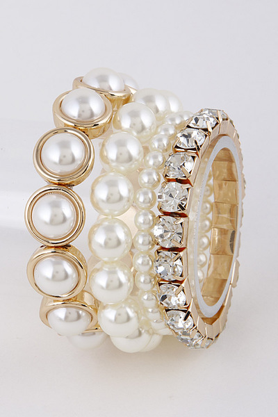 Pearl Boutique Bracelet Set