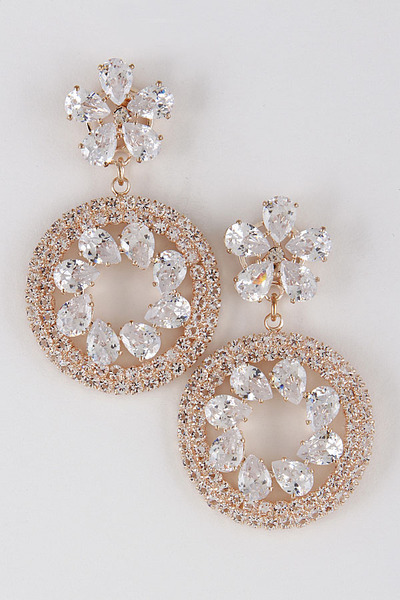 Bejeweled Elegant Earrings