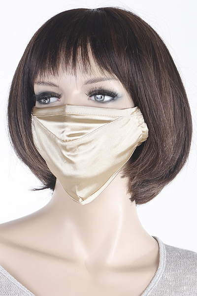 Silky Fabric Face Mask