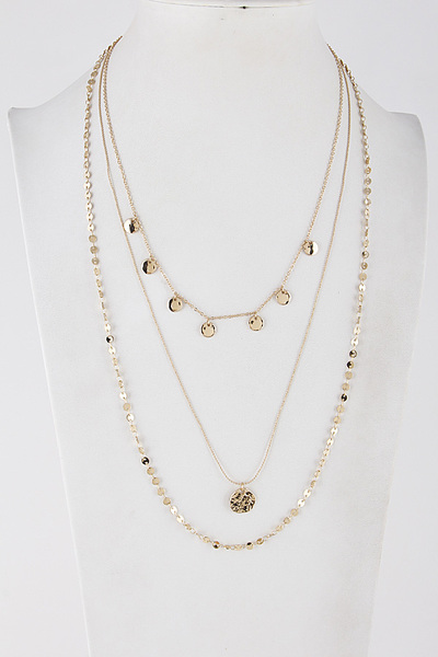 Gypsy Layered Daily Necklace