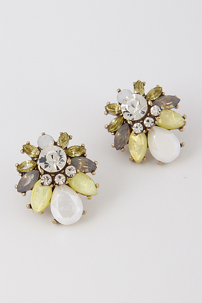 Antique Detailed Earrings