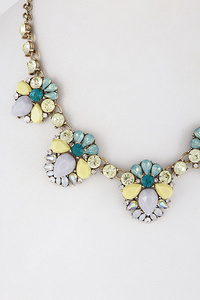 Precious Stones Lovely Necklace