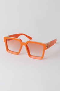 Pop Color Rectangular Sunglasses