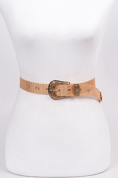 Iron Chainlink Buckle Belt