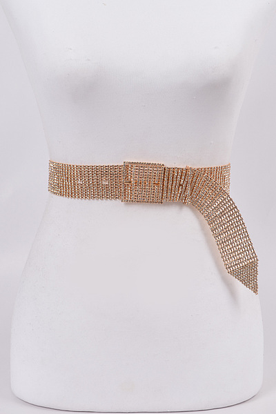 Chainlink Rhinestone Belt