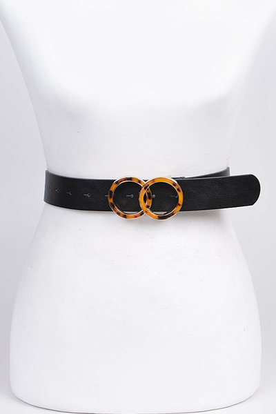 Double Ring Thin Belt