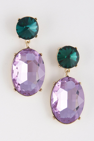Glimmering Jewel Earrings